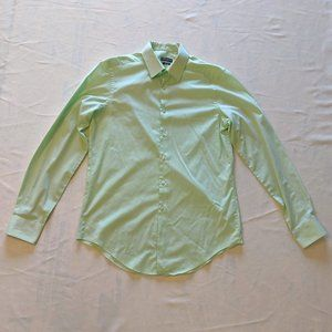 Men's Van Heusen Pastel Green Button Down Shirt